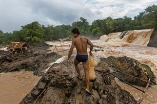 影像藝廊:湄公河水壩