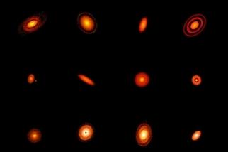 星塵環中的新星誕生
