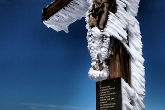 小馬特洪峰上的十字架
