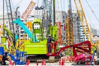東京的建築工程