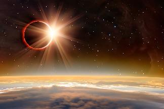 天時地利百年一遇 日環食抵「嘉」