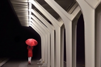 紅衣女郎:火車站之夜