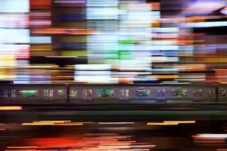 東京:通勤電車