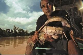 湄公河捕魚人