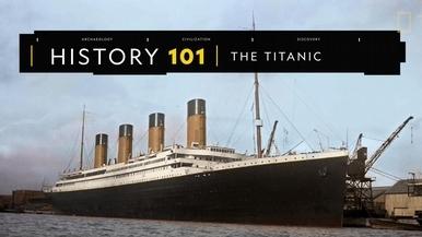 歷史101:鐵達尼號