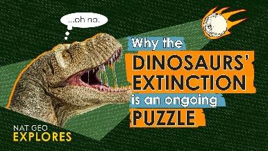 國家地理探索系列:追尋恐龍滅絕之謎