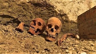 埃及發現3500年古墓 金匠夫妻木乃伊出土