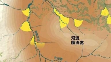 獅子生與死-路線:獅子地圖