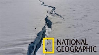 超大裂縫正將南極冰棚一分為二!