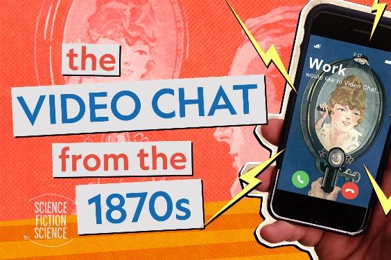 從科幻到科學:視訊通話的歷史脈絡(1870年代就有人想到喔!)