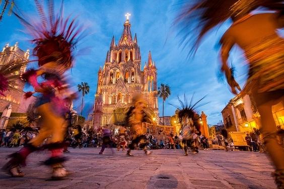 文化交會:聖米格爾教堂