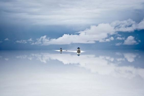雨後的天空之鏡