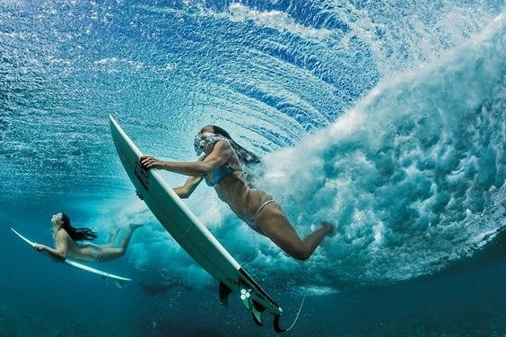 舒展身心:夏威夷衝浪手