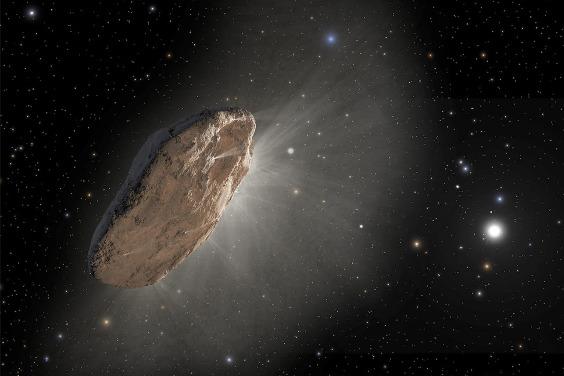 發現來自另一個恆星系統的怪異彗星!
