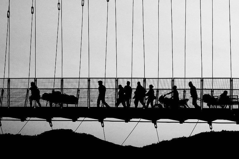 橋上的日常