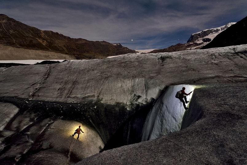 瑞士:戈爾冰河