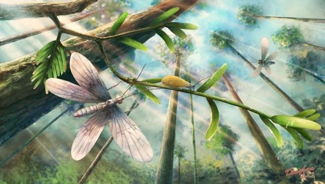 2億年前的「色誘」,可說是相當令人驚艷!