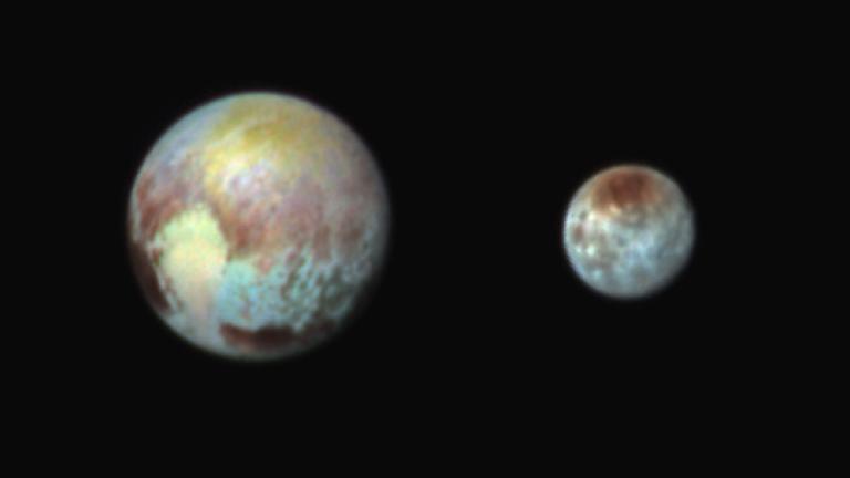 新視野號傳回訊息 順利飛越冥王星