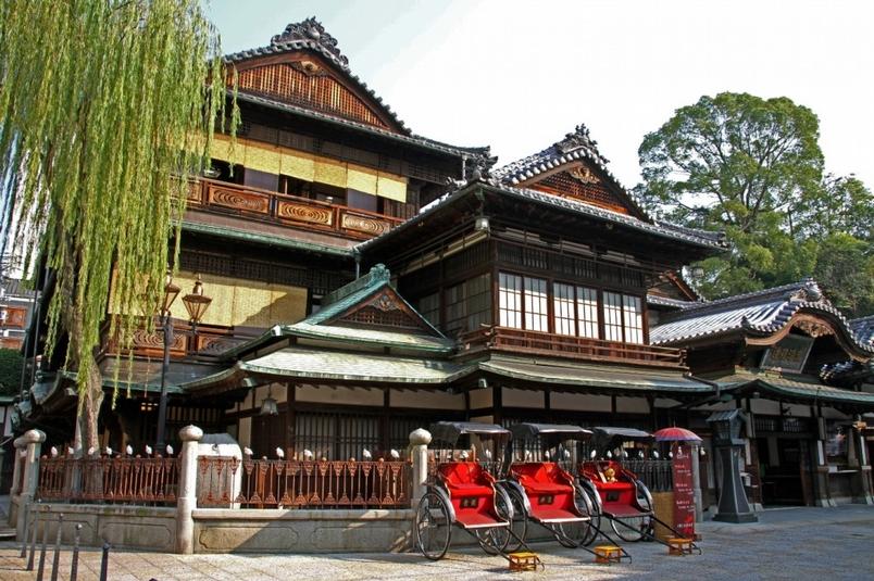 日本最古老的皇室溫泉殿堂—道後溫泉(Sponsored)