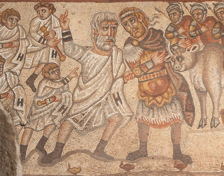 這幅馬賽克畫描繪的是亞歷山大大帝嗎?