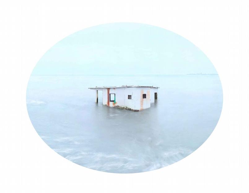 《臺灣水沒》引用東方美學基調,記錄臺灣西海岸地層下陷真相