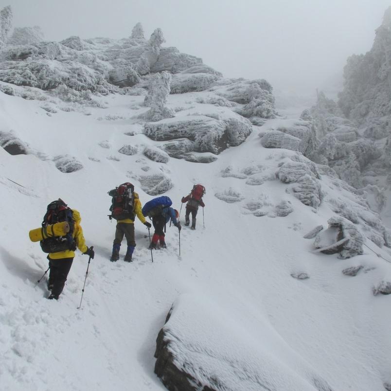 【華人探險家專欄 ─ 江秀真】見證奇萊連峰的黑與白─思登山學校技術攀登學程