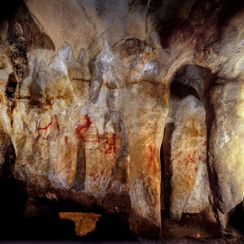 發現世上最早壁畫——由尼安德塔人所繪