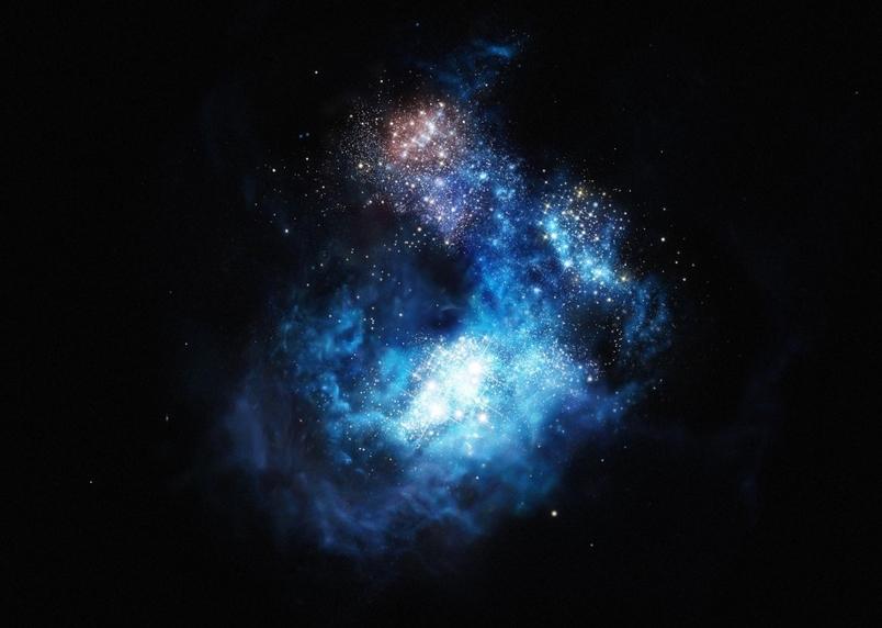 天文學家瞥見宇宙的第一代恆星