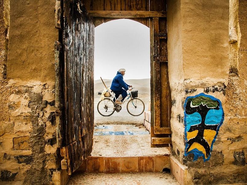 鐵馬悠遊:摩洛哥原住民