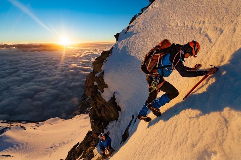 攀登庫克山