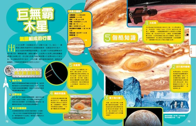 《終極太空探險地圖集》巨無霸木星-氣體組成的行星