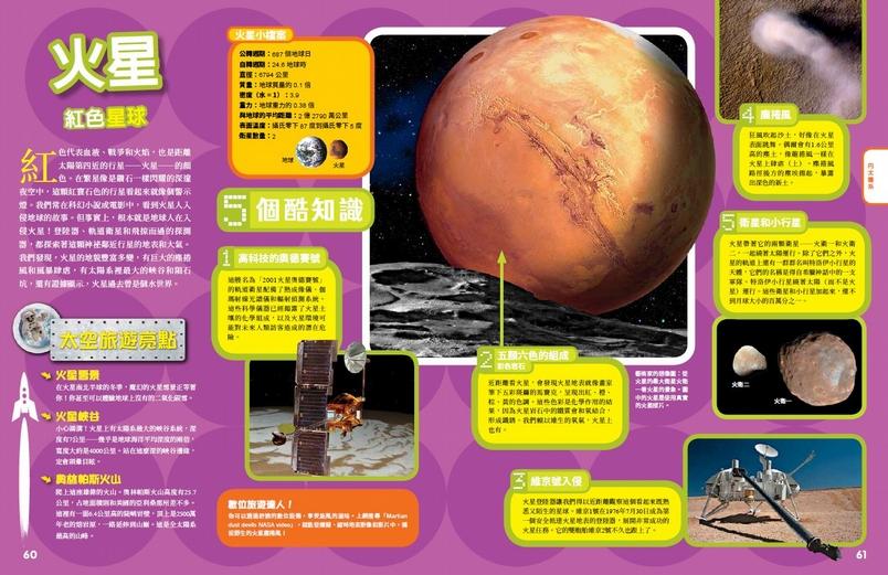 《終極太空探險地圖集》火星-紅色星球
