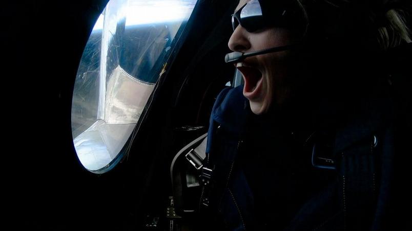 根據美國空軍對太空邊界的定義,本次試飛的三名人員已經抵達太空。PHOTOGRAPH BY VIRGIN GALACTIC