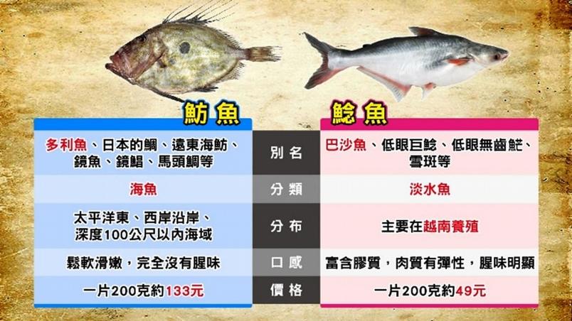 多利魚、巴沙還是鯰魚?。