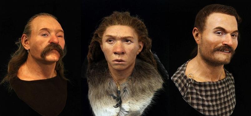 透過顏面重建模型,4萬年前的古代人起死回生