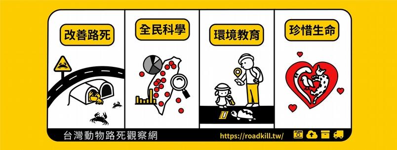 臺灣路殺社目前已有一萬六千多名社員,也呈現了公民科學的可能性。(圖/翻攝自路殺社—生命守護者粉絲專頁)