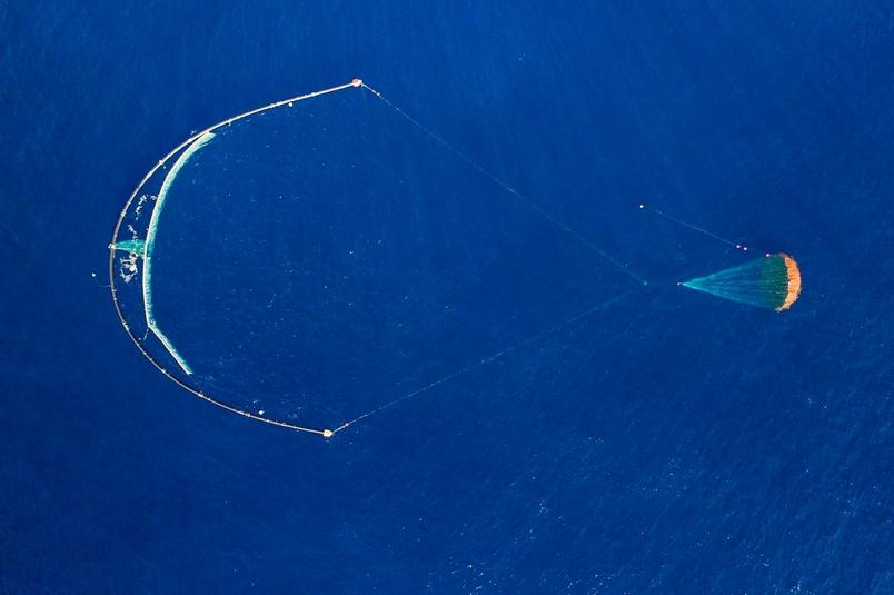 照片提供:The Ocean Cleanup公司