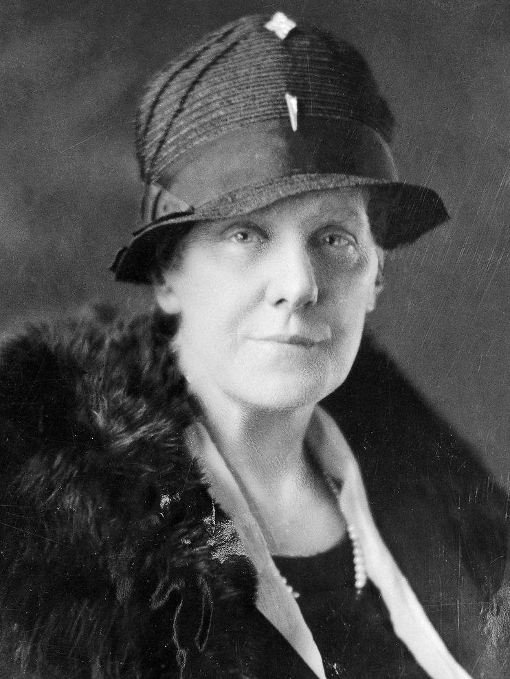 安娜‧賈維斯(Anna Jarvis)是1908年第一次慶祝母親節背後的推手。 PHOTOGRAPH BY BETTMANN, CORBIS