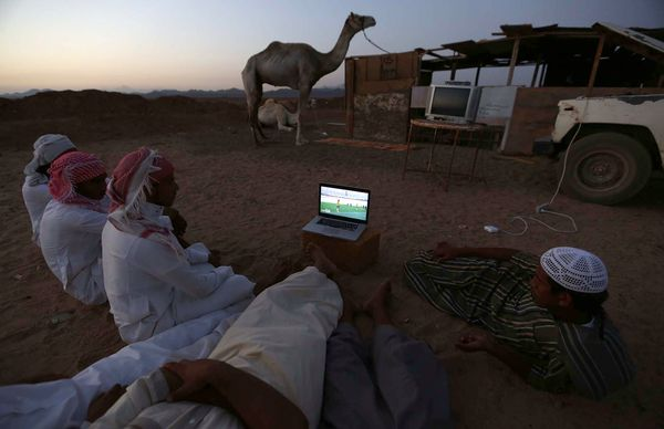 PHOTOGRAPH BY MOHAMED ALHWAITY, REUTERS