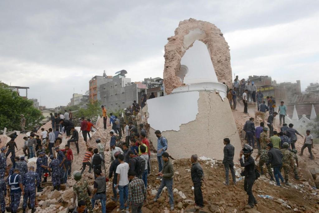 Photograph by Prakash Mathema, AFP, Getty images