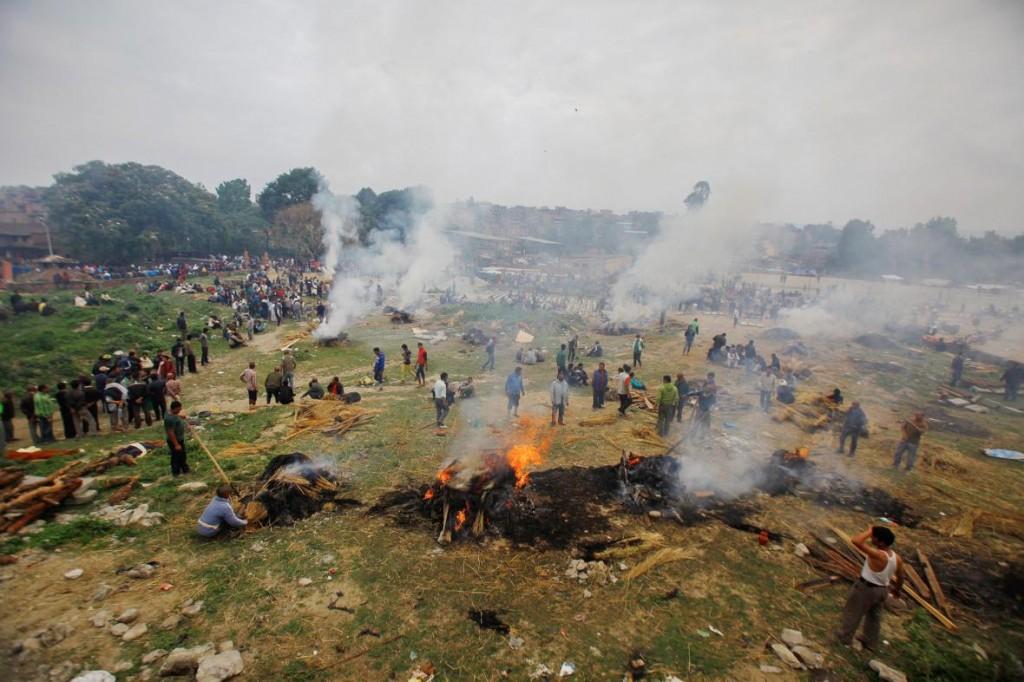 Photograph by Niranjan Shrestha, AP