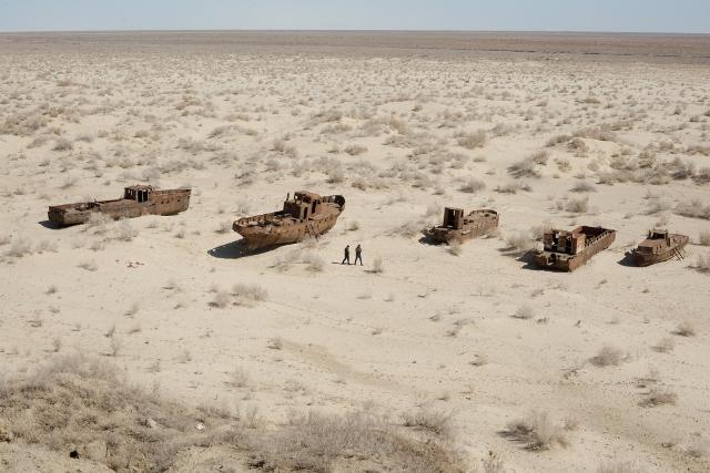 消失中的鹹海