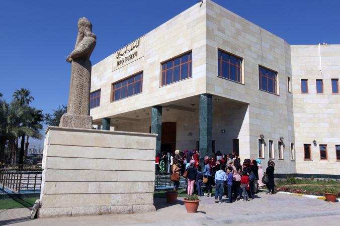 儘管有許多了不起的文物收藏,但這座位於頻繁受到恐怖攻擊地區的博物館仍然難以吸引遊客。Photograph by Sabahi Arar, AFP/Getty