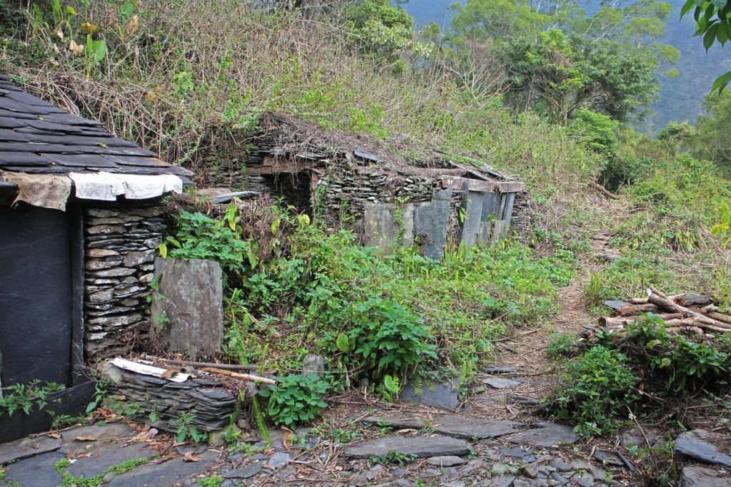 Country: Taiwan Site: Kucapungane Caption: The rest of the settlements are either partially damaged or collapsed. The stone slab house of Clan Varukuvuku's Xu Fu Ming. Image Date: 2015 Photographer: Qi-Ya Zhu/World Monuments Fund Provenance: 2016 Watch Nomination Original: from Watch team