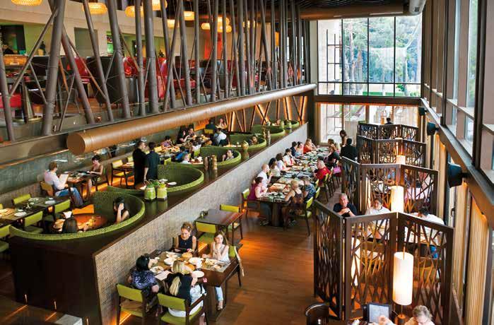 在油錢湧入的亞塞拜然首都巴庫,享用精緻晚餐是展開夜生活的第一站。