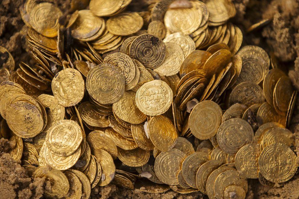 考古大发现:黄金宝藏