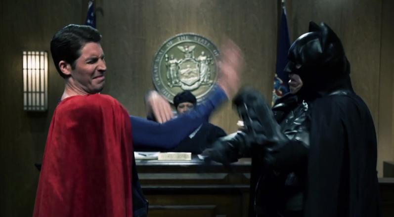 超人蝙蝠俠