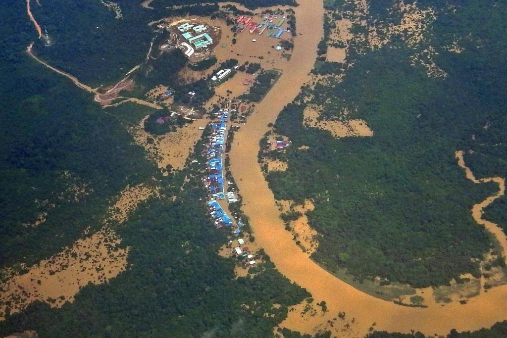 雨林的消失帶來洪澇,只有砍樹的老闆得好處,而全民皆輸