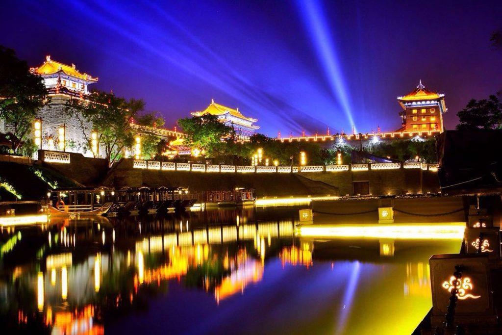 華清宮夜景