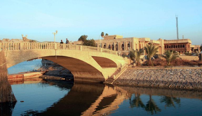 由於經費拮据,這項皇宮變身成博物館的計畫遲遲無法實行,但官方仍希望能在秋天迎來第一批遊客。Photograph by Essam Al-Sudani, AFP, Getty Images